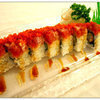 <p>bottom: Shrimp Tempura & Cucumber, top : Spicy Tuna</p>