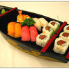 8 Pcs of Sushi ( Chef's Choice ) with Spicy Tuna Roll (Served with Soup or Salad)